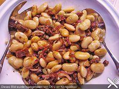 Juanas magischer Bohnensalat Weiße Bohnen - Salat mit getrockneten Tomaten