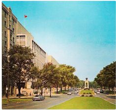 look at all the green space. Ottawa Ontario, Photo Archive, Vintage Photos, Canada, Urban, History, Street, Retro, Space