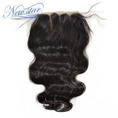 アリババ新しいスター3パートブラジルバージンヘア実体波閉鎖漂白ノットでbady髪、送料無料