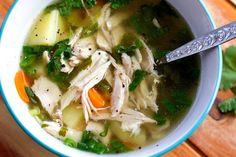 Fall Off The Bone Chicken Soup  #EatDrinkPaleo
