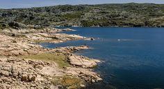 Mountain lagoon. Lagoa Comprida, Serra da Estrela