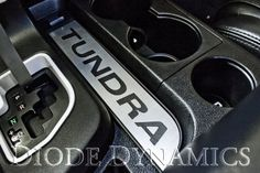 2007-2013 Toyota Tundra Console Accent Plate, Aluminum/Black, Tundra Diode Dynamics http://www.amazon.com/dp/B00CXAQ6BW/ref=cm_sw_r_pi_dp_CIlNtb0K0G4V54VR