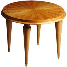 A Petite Art Deco Occasional Table | From a unique collection of antique and modern coffee and cocktail tables at https://www.1stdibs.com/furniture/tables/coffee-tables-cocktail-tables/