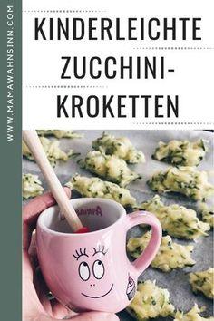 Kinderleichte Zucchini-Kroketten. Easy selbst gemacht und super lecker. MamaWahnsinn zeigt es Step by Step.