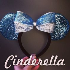 Cinderella Minnie Ears on Etsy, $24.99
