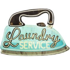 Decorate with vintage laundry signs to create unique laundry room decor. For home or business these laundry signs will change a boring laundry room into something special. Laundry Room Wall Decor, Laundry Room Signs, Bathroom Wall Decor, Metal Wall Decor, Decor Room, Laundry Rooms, Laundry Logo, Laundry Shop, Coin Laundry