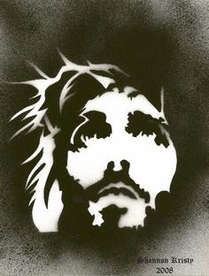 Explore the Arte Sacra collection - the favourite images chosen by titolindo on DeviantArt. Jesus Drawings, Images Of Christ, Paper Animals, Jesus Art, Biblical Art, Crown Of Thorns, Jesus Pictures, Scroll Saw Patterns, Stencil Art