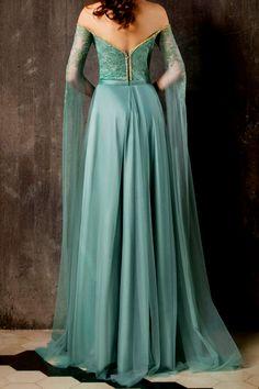 CHRYSTELLE ATALLAH Couture Fall Winter 2018 Společenské Šaty e863d2f05f