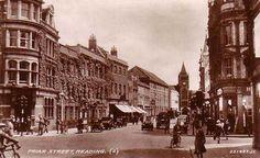 Berkshire, Reading, Friar Street 1940's