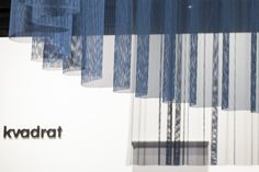 The Rocket curtain at our stand at Orgatec