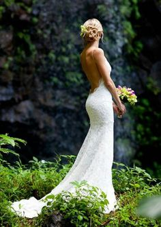 lace love , this is my wedding dress