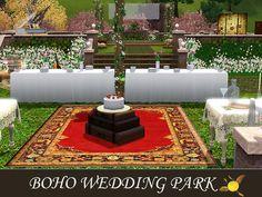 evi's Sims 3 Downloads Sims Cc, Boho Wedding, Table Decorations, Artist, Home Decor, Decoration Home, Room Decor, Bohemian Weddings, Artists