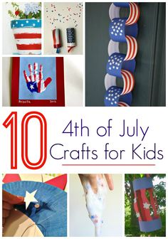 10 4th of July Crafts for Kids! DIY Activities and Party Ideas for Kids!