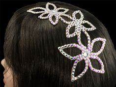 Hair bling for ballroom.