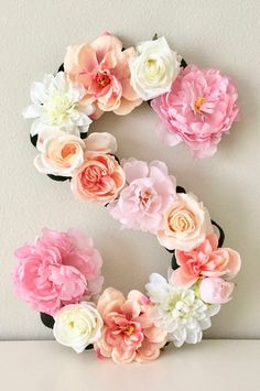 Grandparent Gift Grandma Gift Gift for Grandma Nursing Home Grandparent Gifts, Grandma Gifts, Nursing Home Gifts, Flower Letters, Barbie Birthday, Gold Bridal Showers, Giant Paper Flowers, Diy Wreath, Flower Crafts