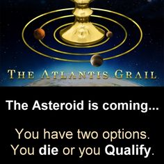 You have two options. You die, or you QUALIFY. ======= The Atlantis Grail -- a high-octane dystopian SF teen adventure series in the apocalyptic vein of #Divergent and #TheHungerGames  Amazon: http://www.amazon.com/dp/B00RALWMLM/  Barnes & Noble: http://www.barnesandnoble.com/w/qualify-vera-nazarian/1120954171?ean=2940150200227  Apple iBooks: https://itunes.apple.com/us/book/qualify/id954670123?mt=11  Smashwords: https://www.smashwords.com/books/view/504172