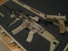 Great Combo - FN SCAR 17s .308/7.62x51mm NATO. & FN FNX .45 ACP pistol.