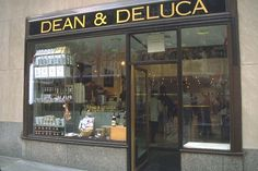 Dean and Deluca, Georgetown! Love it here!