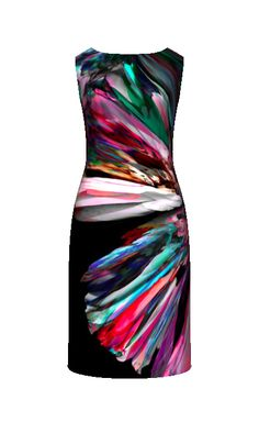 Kathryn Pledger Constrvcts illustration on dress Curvy Clothes, Curvy Outfits, Fashion Outfits, Textile Prints, Floral Prints, Textiles, Cute Dresses, Beautiful Dresses, Floral Texture