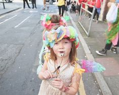 Kids Craft: Tissue Paper Flower Headdress