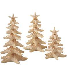 Starfish Christmas Tree #coastal #Christmas