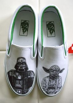 Find images and videos about shoes, vans and star wars on We Heart It - the app to get lost in what you love. Custom Design Shoes, Custom Vans, Custom Shoes, Star Wars Vans, Star Wars Shoes, Tenis Vans, Star Wars Love, Star Wars Gifts, Painted Shoes