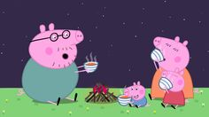 Peppa Pig: Camping. Cartoons for Kids/Children