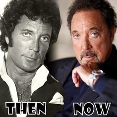 Tom Jones before and after