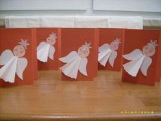 přáníčka s andílky « vánoční tvoření