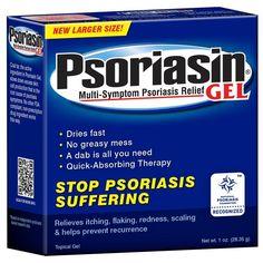 2x Psoriasin Multi-Symptom #Psoriasis Relief GEL Coal Tar Treatment for Face Body #Treatment