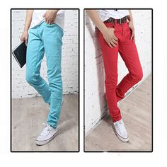 Pencil Stretchy Candy Colored Pants