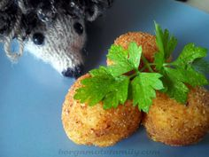 Pour ce 2ème jour de la semaine du gout, découvrez la recette des croquettes de pomme de terre de maman Bergamote.