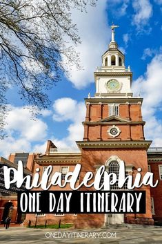 One Day in Philadelphia Guide) – Top things to do and places to see US history is of interest to you? Learn all about it by spending just One day in Philadelphia. See where the most powerful nation was born. Philadelphia Things To Do, Philadelphia Hotels, Historic Philadelphia, Philadelphia History, Boba Fett Tattoo, One Day Trip, Day Trips, Weekend Trips, Plymouth