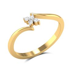 This ring in and gold features a dainty cluster of diamonds as the centrepiece which is held delicately by the gold band. Diamond Bracelets, Diamond Jewelry, Gold Jewelry, Men's Jewellery, Designer Jewellery, Jewellery Designs, Small Diamond Rings, Gold Ring Designs, Pretty Rings