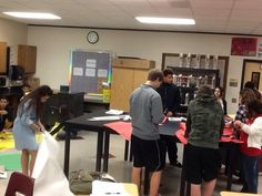 Class activity to create a giant flower to learn flower anatomy. GRHS FFA - www.OneLessThing.net