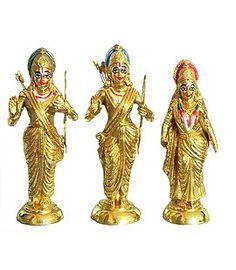 Rama, Lakshmana and Sita