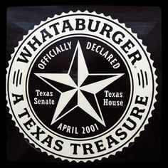 """""""WhataBurger"""" pronounced """"what-a-burger""""  is to Texas what """"In and Out"""" is to California.   Texans LOVE Whataburger!"""