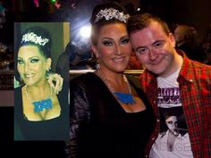 Michelle Visage - Celebrity Big Brother Contestant, visiting Menergy in Glasgow. Wearing Bonnie Bling Taps Aff necklace. Big Brother Contestants, Celebrity Big Brother, Taps, Celebrity Pictures, Bling Jewelry, Glasgow, Celebrities, How To Wear, Fashion