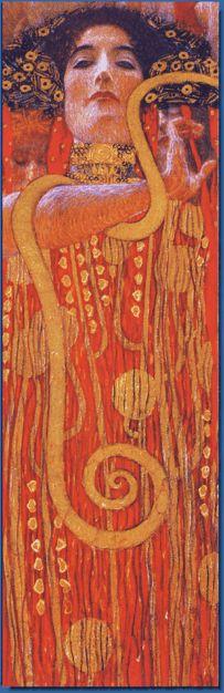 bookmark Medicine (Hygieia) by Gustav Klimt