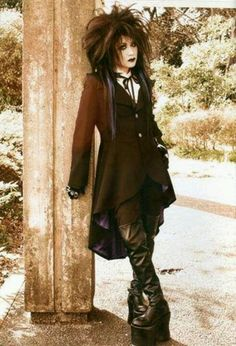 Mana is a Japanese musician and fashion designer, best known for a role as leader and guitarist of the visual kei rock band Malice Mizer. His clothing label, Moi-même-Moitié, helped popularize Japan's Gothic Lolita fashion movement. Mana is currently working on his solo project Moi dix Mois.