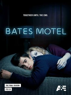 Don't worry, she'll never really leave you. Bates Motel, January 2017