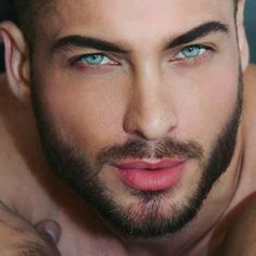 tip of the cock is the very same color as the guy's lips Pretty Eyes, Cool Eyes, Beautiful Men Faces, Beautiful People, Eye Candy Men, Bedroom Eyes, Handsome Faces, Stunning Eyes, Male Face