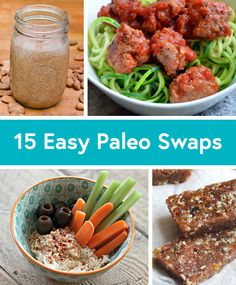 15 Paleo-Friendly Recipe Substitutions