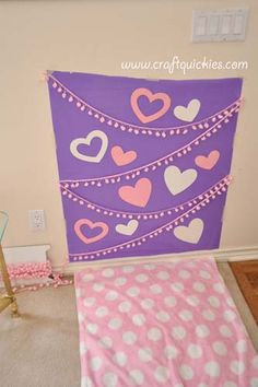 Set up a darling photo shoot for your kids on Valentine's Day or any other day with the ideas from this blogger.