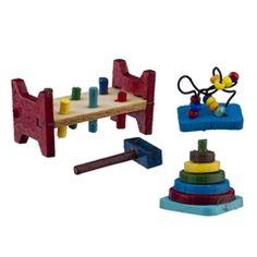 Miniature! Three Baby Toys Mini Kit