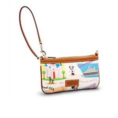 Retro Disneyland Wristlet Bag by Dooney & Bourke | Disney StoreRetro Disneyland Wristlet Bag by Dooney & Bourke - Revisit the nostalgic look of The Happiest Place on Earth with this Disneyland purse by Dooney & Bourke. Charming illustrations on this essentials-sized wristlet will make it your go-to when you're ready to get retro active.