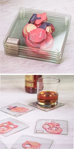 Coasters That Teach You About the Heart