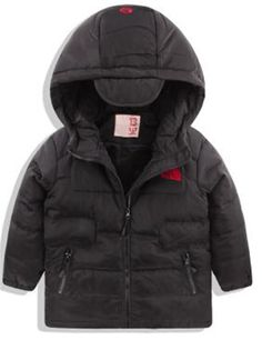 "Yayu Kids Baby Boy Winter Warm Embroiderd Ful-Zip Hooded Down Jacket black 4T. 1 or 2 Sizes Up Suggested as ours are Chinese Size. US 3y:Length:17.72""(45cm) Bust:14.57""(37cm) Sleeve:14.57""(37cm). US 4y:Length:18.90""(48cm) Bust:15.35""(39cm) Sleeve:15.75""(40cm). US 5y:Length:20.08""(51cm) Bust:16.14""(41cm) Sleeve:16.93""(43cm). US 6y:Length:21.26""(54cm) Bust:16.93""(43cm) Sleeve:17.72""(45cm)."
