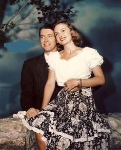 Jimmy Stewart And Donna Reed Publicity Still For Its A Wonderful Life 1946