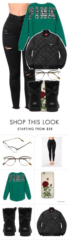 """Untitled #4853"" by dianna-argons-lover ❤ liked on Polyvore featuring Tom Ford, Victoria's Secret PINK and UGG Australia"